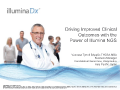 Driving Improved Clinical Outcomes with the Power of Illumina NGS