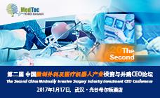 第二届中国微创外科及医疗机器人产业投资与并购CEO论坛