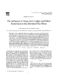 The Influence of Open Arm Ledges and Maze Experience in the Elevated Plus-Maze