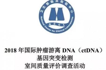 """安诺双满分通过""""2018 年国际肿瘤游离DNA(ctDNA)基因突变检测室间质评"""""""