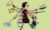 研究表明:做家务有益身心健康 或可延年益寿