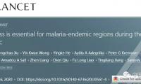 屠呦呦团队《柳叶刀》发文:在大流行期间,防范措施对疟疾流行地区至关重要