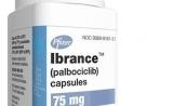 治疗晚期乳腺癌药物palbociclib说明书