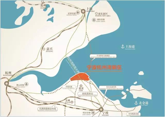 """在""""东方巨龙""""——杭州湾跨海大桥南岸,美丽的杭州湾畔."""