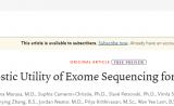 肾不好是遗传?NEJM建议:将基因测序用于肾病诊疗