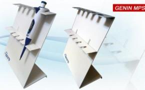 移液器支架乾芸MPS001全金属通用移液器支架(可挂5支)