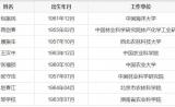 中国工程院2017年院士增选结果公布