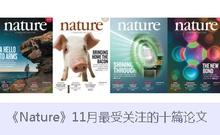 《Nature》10月最受关注的十篇论文