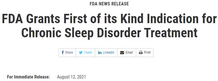 无极4登录地址首个特发性嗜睡症新药!独特阳离子羟丁酸疗法Xywav获FDA批准上市