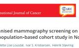 早筛悖论!国际癌症杂志证明,乳腺癌筛查不能降低死亡率