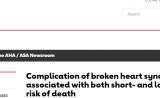 心痛致死?权威研究证明:心碎综合征与死亡风险增加有关