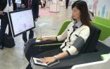 夏普公司新技术:坐在椅子上就可以进行全面健康检查