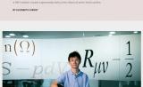 曹原入选2018《自然》年度科学人物的中国人