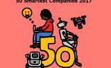 """100万+、390亿、66%、1250……11家医疗健康企业入围""""全球50大最聪明公司""""榜单"""