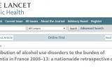重度饮酒是导致痴呆症最重要的危险因素 | 柳叶刀子刊
