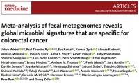 同日两篇《自然·医学》:大便里至少1/3是细菌,它们和癌症有啥关系?