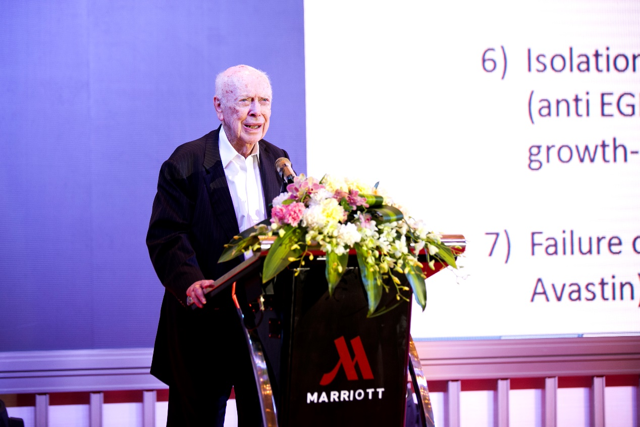 """""""dna之父""""詹姆斯·沃森教授造访中国,谈抗癌新策略 !"""