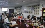 热烈欢迎重庆邮电大学生物信息学院师生到高圣医药参观交流