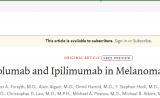NEJM突破性成果!联合免疫疗法显著缩小黑色素瘤的脑转移
