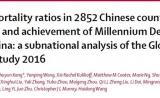 《柳叶刀》:中国孕产妇死亡率大幅降低,但地区公平仍有挑战