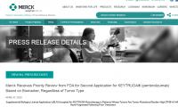 "Keytruda第二个""不限癌种""上市申请获FDA优先审评"
