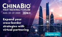 促进全球跨境生命科学合作伙伴关系,ChinaBio 合作论坛于今年8月线上召开