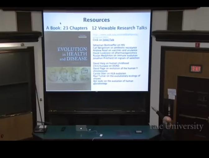 耶鲁大学公开课 进化,生态和行为原理