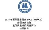 浙江省唯一! 联川生物满分通过国际肿瘤游离DNA基因突变检测室间质评