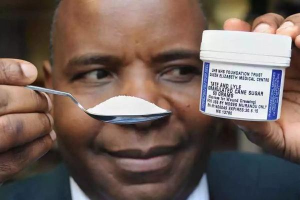 抗生素也治愈无法的伤口,竟用白砂糖愈合?他白虫卵芝麻图片