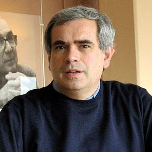 """Dario Autiero,法国里昂核物理研究所研究员,领导团队声称发现""""超光速""""中微子。"""