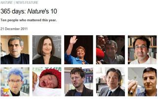 Nature:2011科学界年度人物