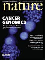 Nature:利用SNP微阵列识别白血病有关的基因病灶