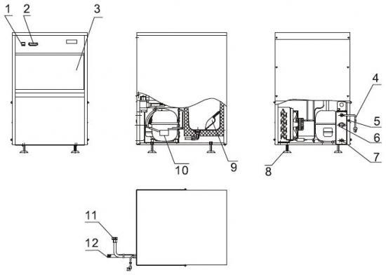 im系列全自动制冰机使用说明书