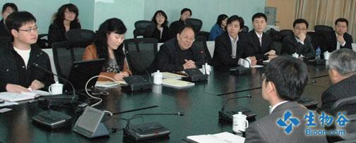 韩国生物医药代表团访问张江药谷