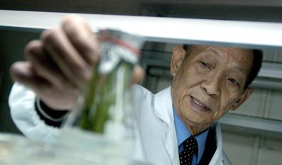 袁隆平:转基因研究要积极应用需慎重