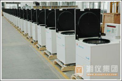 湘仪DL-6M大容量冷冻离心机顺利进军南美洲市场