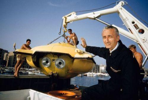 国家地理120年九大发现:海洋探险家雅克·库斯托