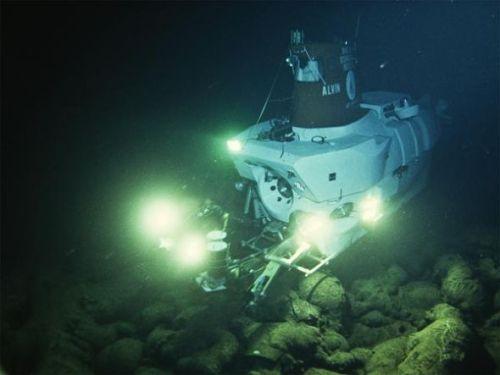 """国家地理120年九大发现:""""阿尔文""""号潜水器"""